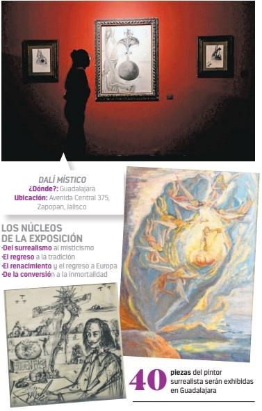Muestran faceta religiosa de Dalí en Guadalajara