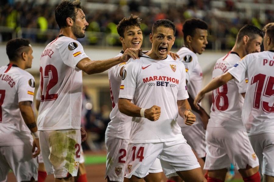 """Sevilla y """"Chicharito"""" anhelan otro triunfo en la Europa League"""