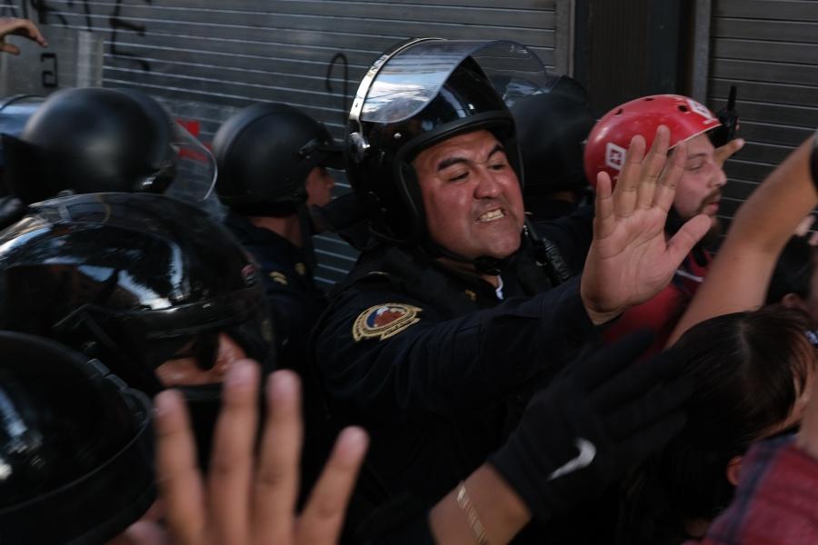 Reporta el gobierno de la CDMX 14 personas lesionadas, al concluir la marcha del 68