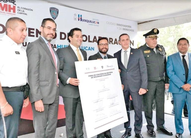 Refuerzan seguridad Orta, Romo, Rubalcava y Vargas