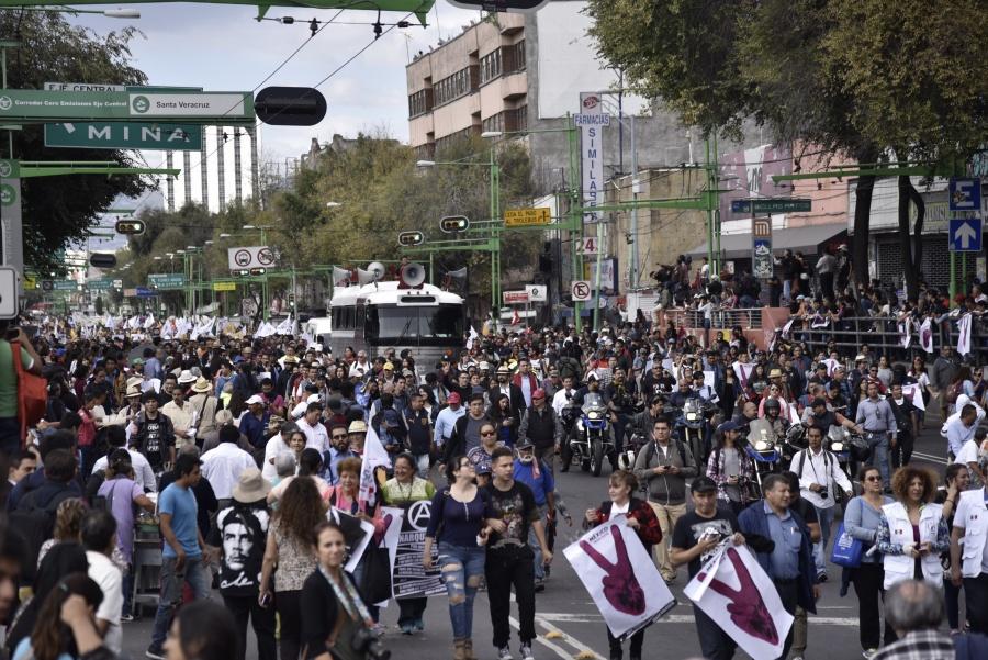 Habrá 6 movilizaciones en la capital, además de la del 68