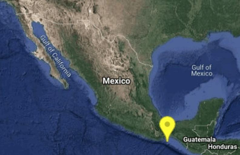 Sismo de 5.3 grados sacude Salina Cruz, Oaxaca
