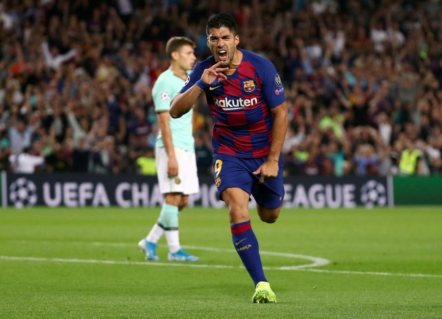 Barcelona remonta ante el Inter con goles de Luis Suárez