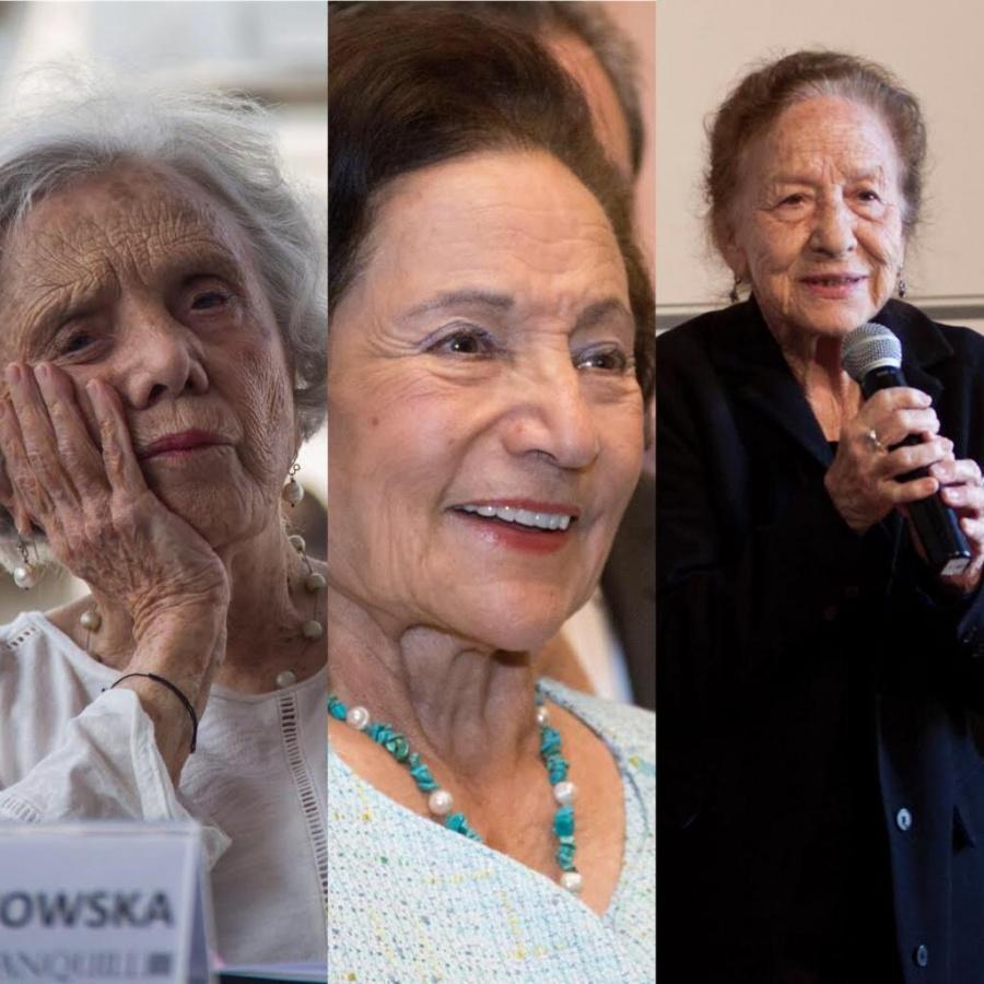 Entre Elena Poniatowska, Rosario Ibarra e Ifigenia Martínez saldrá la galardonada de la Belisario Domínguez