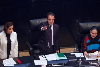 Ante el pleno del Senado comparece el secretario de Hacienda