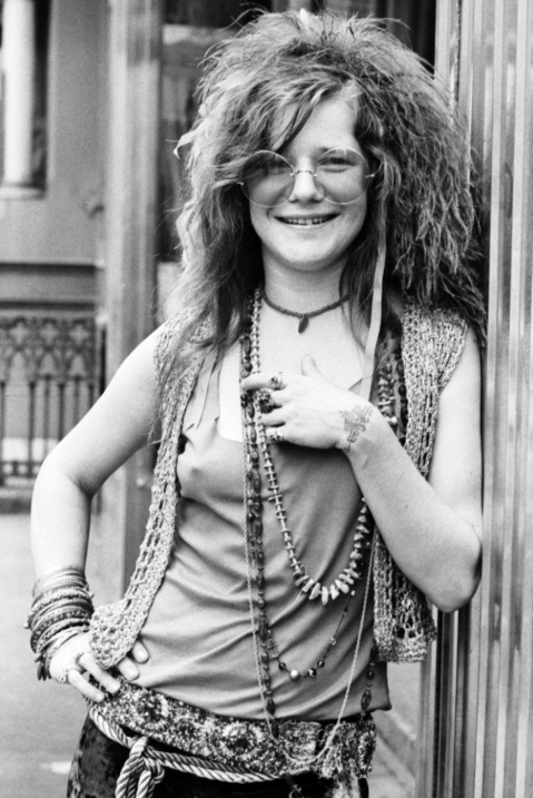 "Ella fue Janis Joplin, ""La Bruja Cósmica"""
