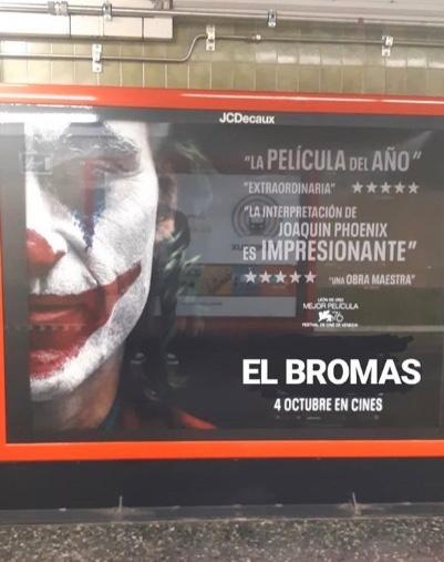 """España bautiza como """"El Bromas"""" a película de """"Joker""""; estos son los mejores memes"""