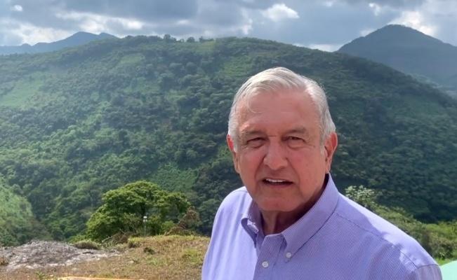 Se compromete AMLO a que lleguen los apoyos a la Sierra Norte de Puebla