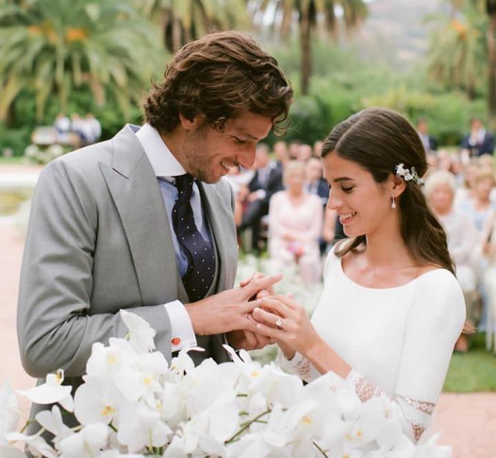 Feliciano López y Sandra Gago no se casaron realmente el pasado 20 de septiembre