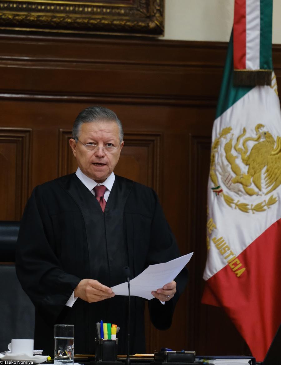 La Corte no es un partido de oposición: Arturo Zaldívar