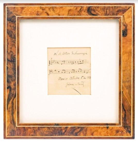 Ofertan Fragmento Original del Himno Nacional
