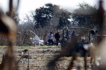 Realizan en el extranjero análisis de pruebas del accidente donde murió gobernadora de Puebla