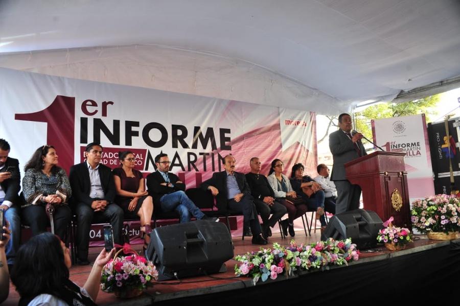 Participación ciudadana, punto clave en la nueva conformación de la CDMX: Martín Padilla