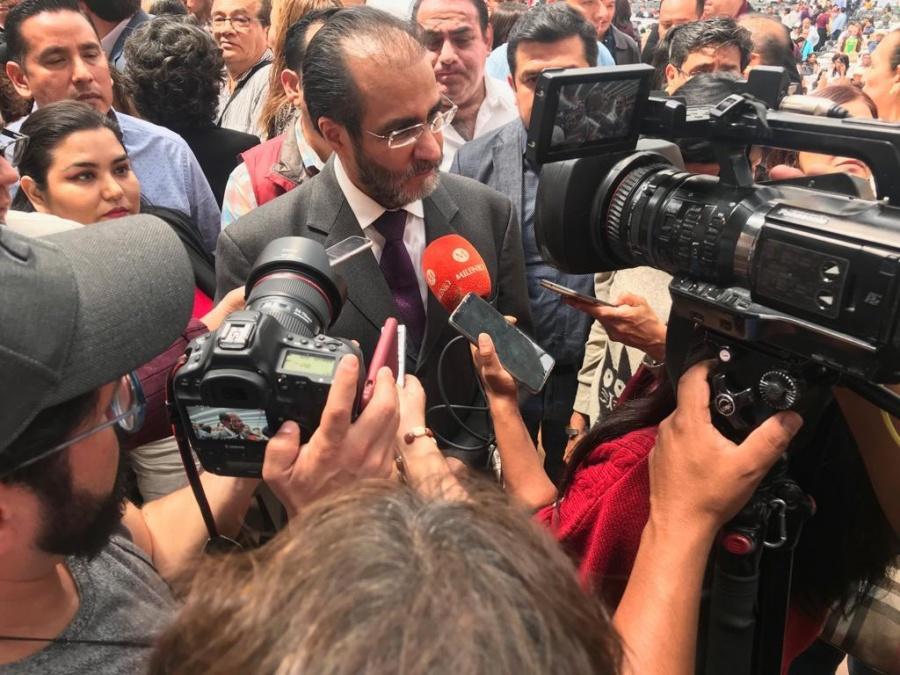 René Bejarano asegura que saldrán más personajes de la política en el caso Medina Mora