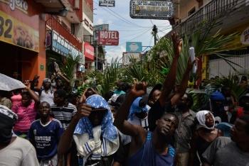 Refrenda INM apoyo a migrantes africanos en Chiapas
