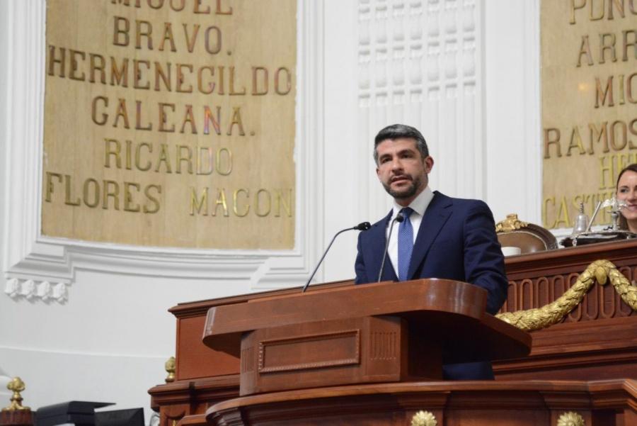 Mauricio Tabe Echartea pedirá que se modifique la fecha de la comparecencia del titular de la SSC