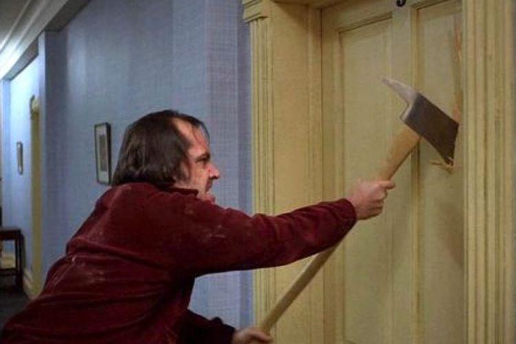 Subastan hacha que usó Jack Nicholson en