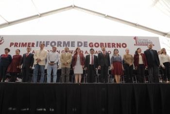 Alcaldes de GAM e Iztacalco, primeros en rendir informe de gobierno