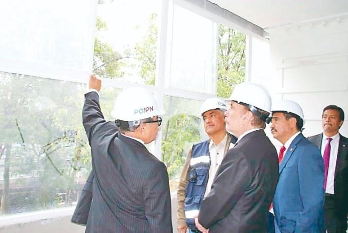 IPN rehabilita edificios afectados por el sismo