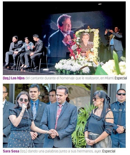 Tras Homenaje en Miami, Hijos de José José difieren por cremación