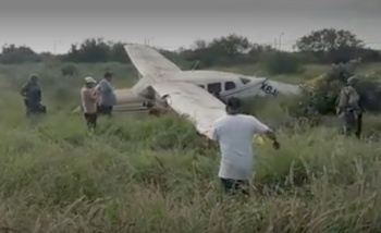 Avioneta se desploma en Apodaca, Nuevo León