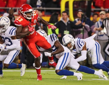NFL: Kansas pierde lo invicto ante Indianápolis