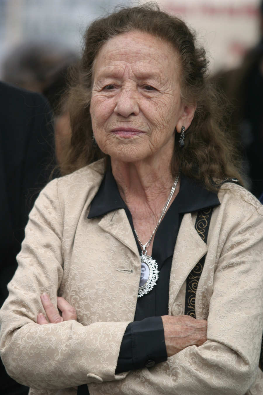 Ella es Rosario Ibarra de Piedra, ganadora de la medalla Belisario Domínguez