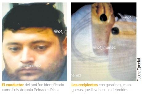 Detienen a taxista que ordeñaba gas del MB