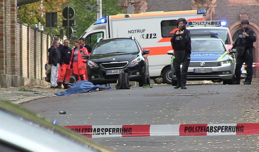 Ataque a sinagoga en Alemania deja al menos dos muertos