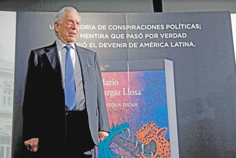 En nueva novela, Vargas Llosa desenmascara golpe de Estado de EU en Guatemala