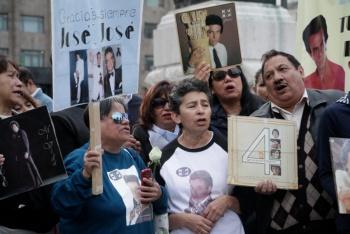 Salen las cenizas de José José de Bellas Artes rumbo a La Basílica