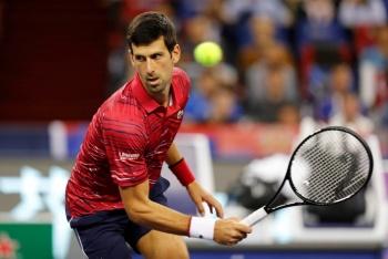 Comienza Djokovic defensa del Masters de Shanghai con triunfo