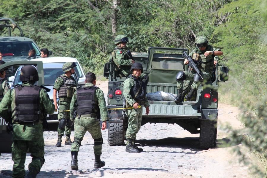 1,200 elementos del Ejército y la Guardia Nacional llegaron a Guanajuato