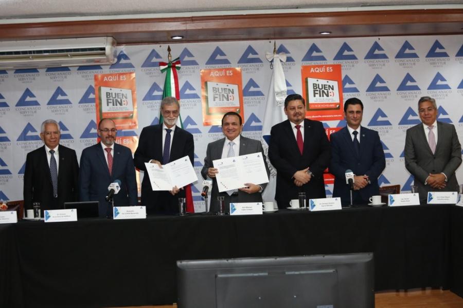 Firman alianza Concanaco Servytur y la Asociación Latinoamericana de Integración