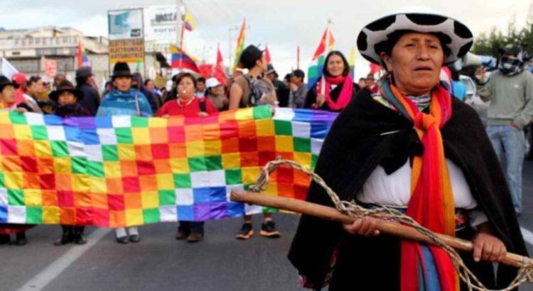Movimiento indígena en Ecuador pide a las Fuerzas Armadas retirar su apoyo a Lenín Moreno