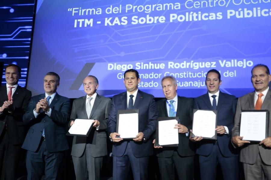 Buscan el crecimiento económico y social de México con la Alianza Centro-Bajío-Occidente