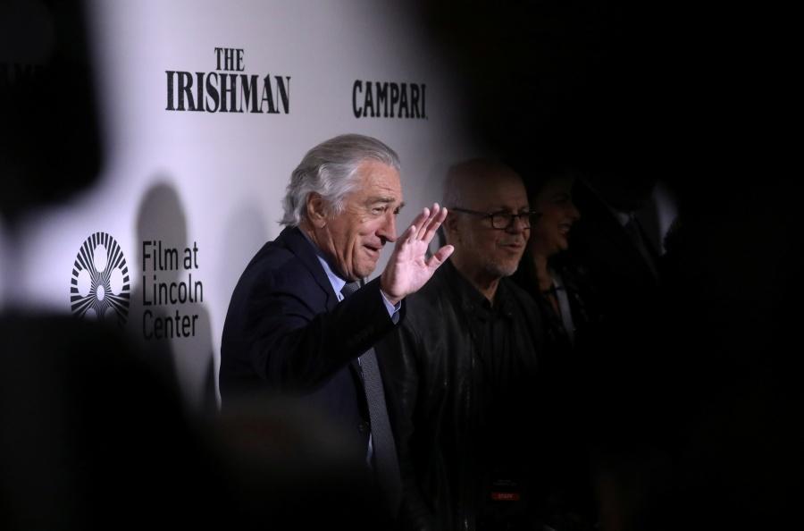 """De Niro presentará """"The Irishman"""" en el Festival de Cine de Los Cabos"""