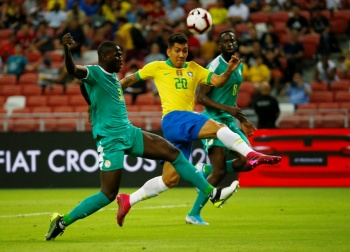 Brasil no puede con Senegal en amistoso en Singapur
