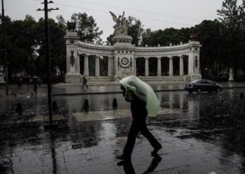 Activan Alerta Amarilla por lluvias en 10 alcaldías