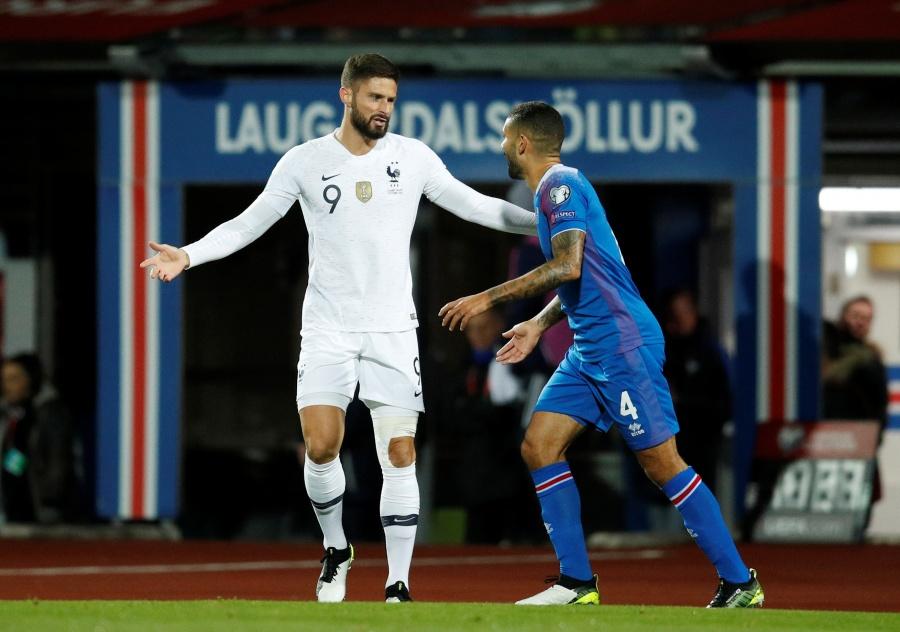 Francia vence con lo justo a Islandia rumbo a la Euro 2020