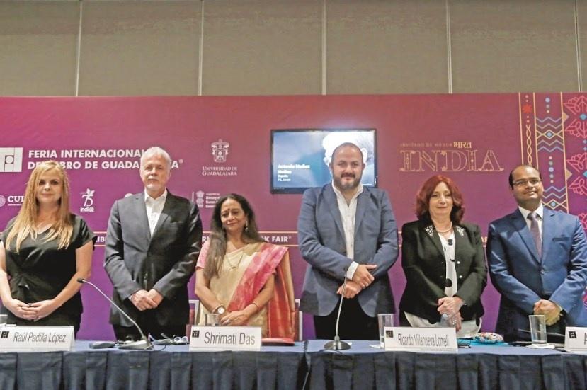 Con India y 800 escritores alistan la 33 FIL de Guadalajara