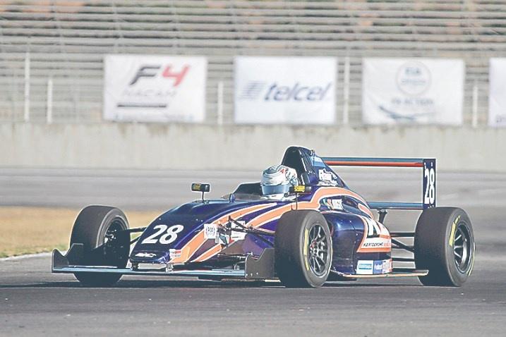 F4 NACAM llega a la capital previo al GP de México