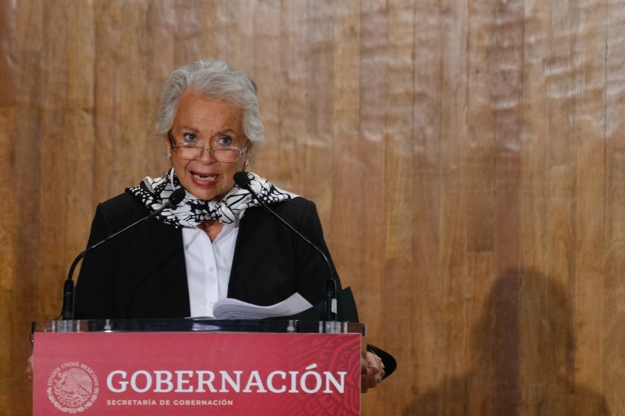 Respalda titular de Segob lo dicho por el Ministro Arturo Zaldívar sobre presión de FCH