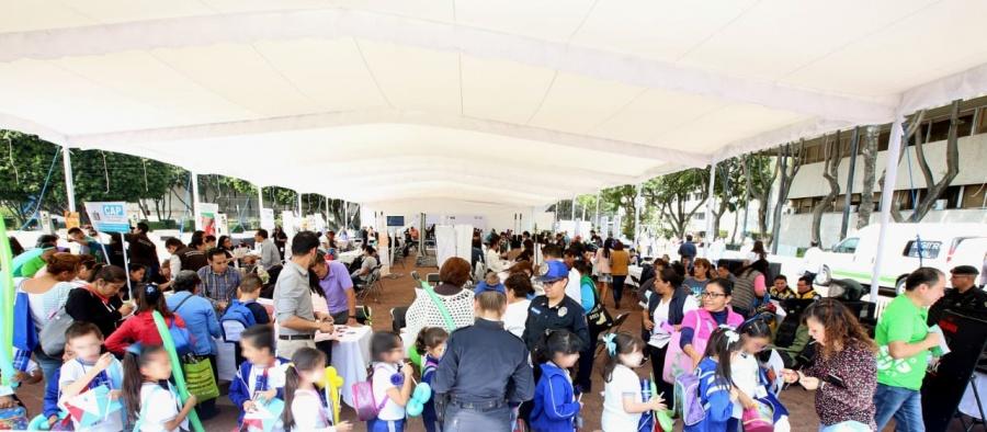 Inauguran la Feria de la Transparencia en la Alcaldía Benito Juárez