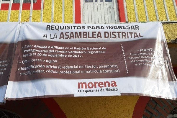 Individuos armados llegan a asambleas de Morena en Jalisco y dejan cuatro heridos