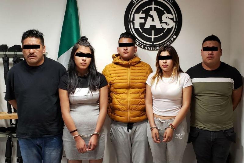 Detienen a integrantes de banda de secuestradores que operaban en Polanco