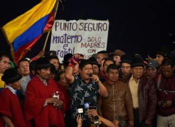 Movimiento indígena de Ecuador acepta el diálogo directo con el gobierno de Lenín Moreno
