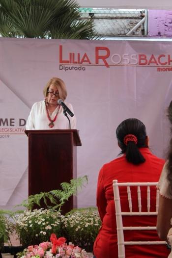 El reto como legisladores, lograr un desarrollo justo e inclusivo: Lilia Rossbach