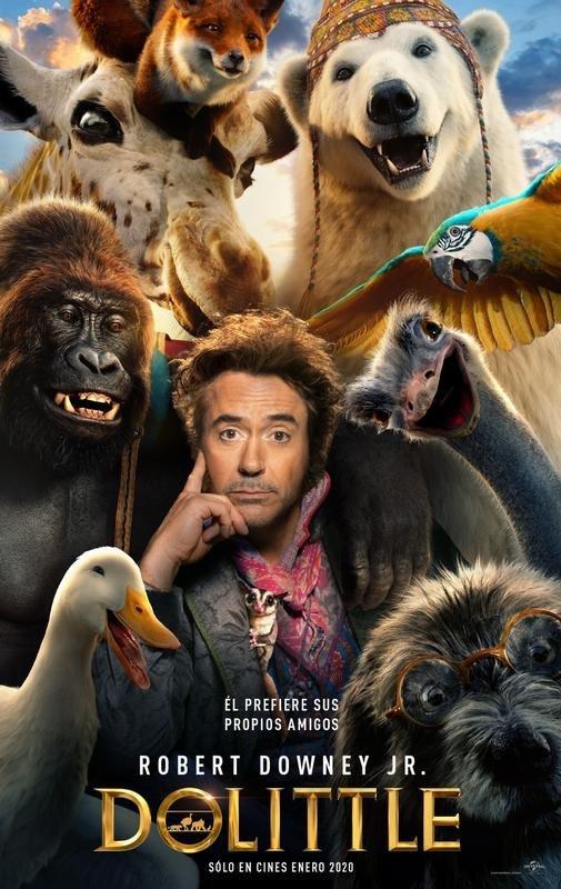 """Se conoce primer avance de """"Dolittle"""", donde Robert Downey Jr. será protagonista"""