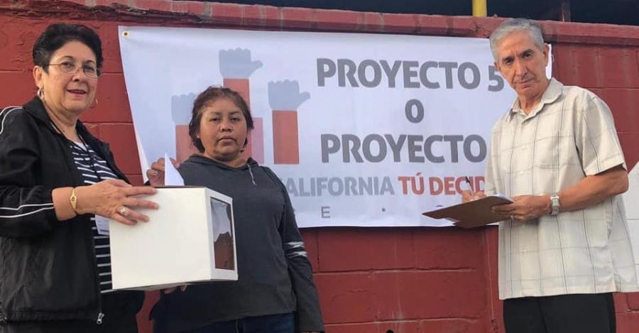 Concluye consulta en Baja California para ampliar mandato de gobernador. Los resultados mañana